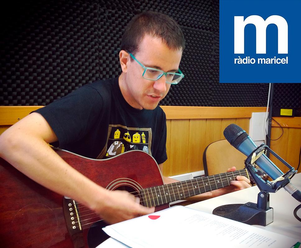 Albert Pastor presenta Sotracks a Ràdio Maricel